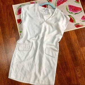 Bar III white tunic dress